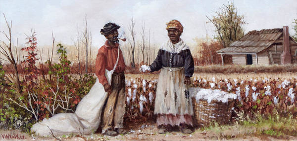 Cotton Painting - Good Crop by William Aiken Walker