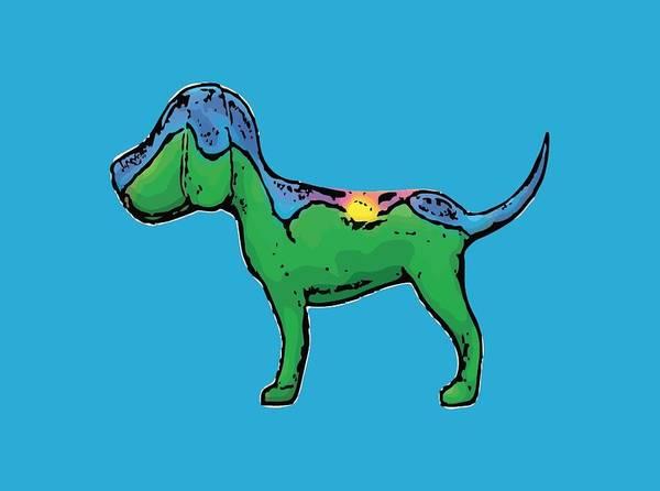 Wall Art - Digital Art - Good Morning Dog by Jan McGinnis