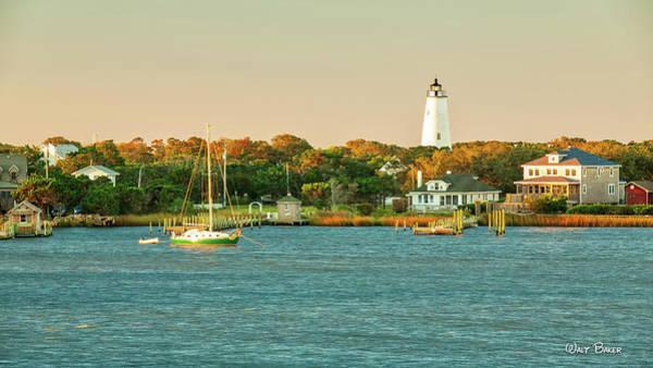 Ocracoke Lighthouse Photograph - Good Morning Ocracoke by Walt Baker
