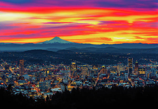 Good Morning Portland Art Print