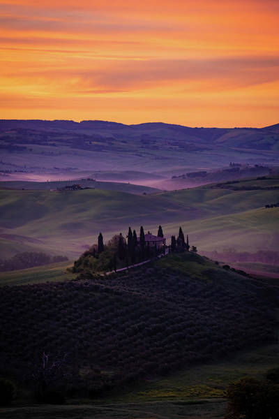 Photograph - Good Morning San Quirico D' Orcia by Chris Lord