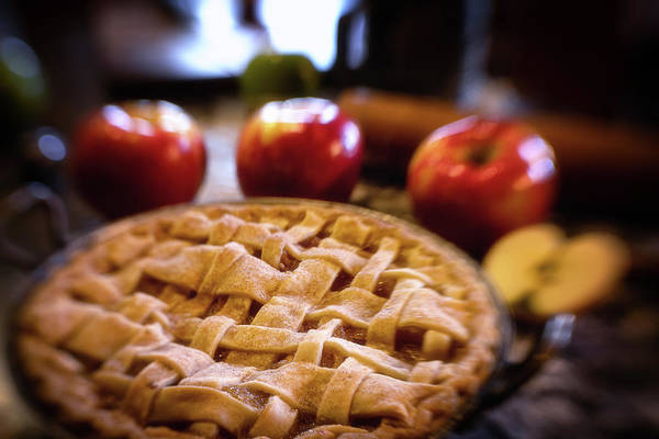 Wall Art - Photograph - Good Ol Apple Pie by Marnie Patchett
