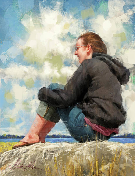 Wall Art - Digital Art - Fair Weather by Garth Glazier