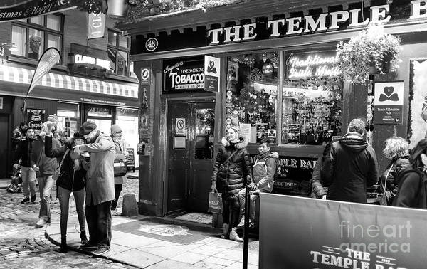 Wall Art - Photograph - Good Times At The Temple Bar At Night Dublin by John Rizzuto