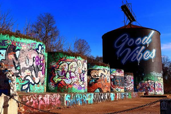 Photograph - Good Vibes Asheville North Carolina by Carol Montoya