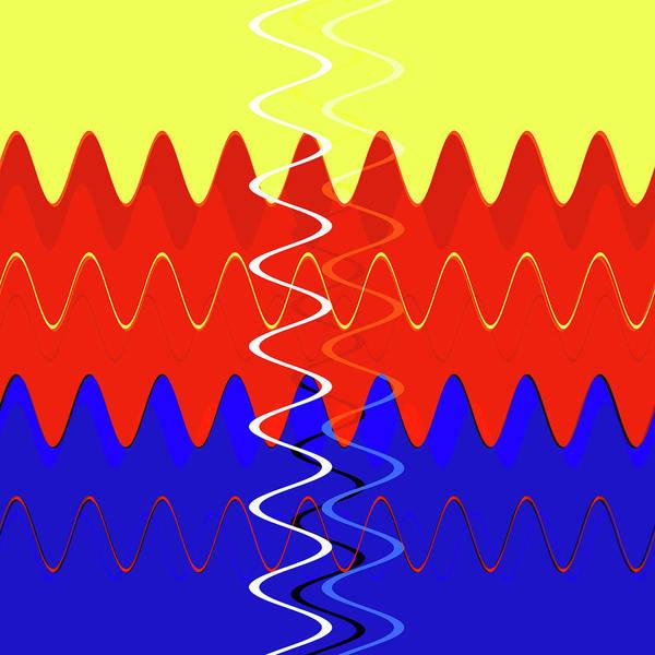 Digital Art - Good Vibrations by Dan Sproul