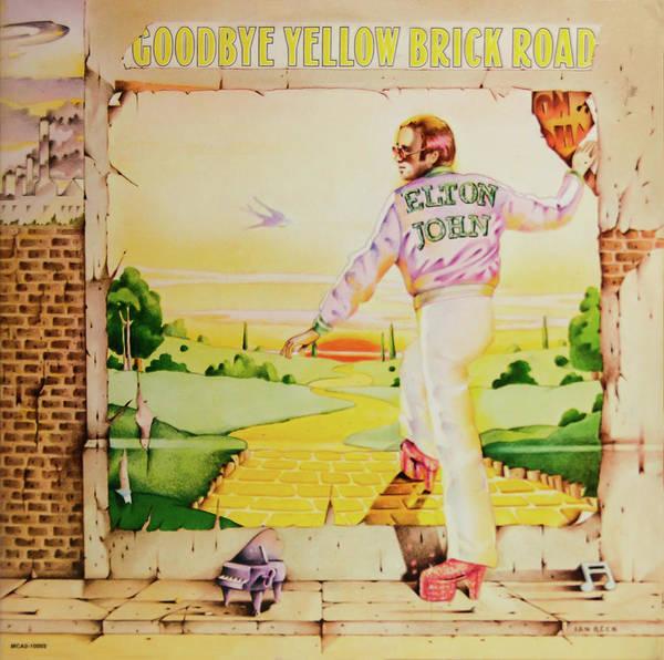 Elton John Photograph - Goodbye Yellow Brick Road by Robert VanDerWal