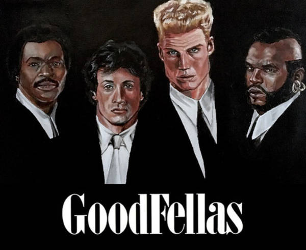 Goodfellas - Champions Edition Art Print