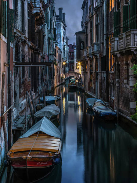 Venezia Wall Art - Photograph - Goodnight Venice by Jaroslaw Blaminsky