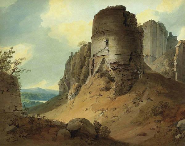 Wall Art - Painting - Goodrich Castle by Hugh Williams