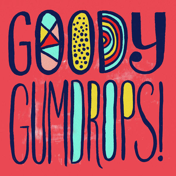 Painting - Goody Gumdrops by Jen Montgomery