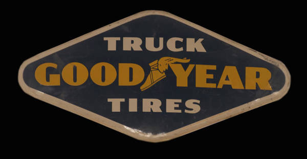 Photograph - Goodyear Truck Tire Sign by Chris Flees