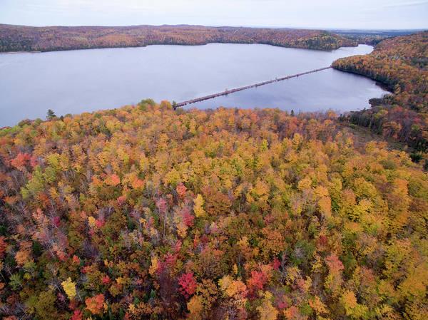 Photograph - Goose Lake 10161701 by Rick Veldman