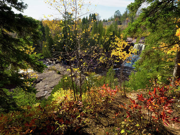 Gooseberry Falls From Above Art Print