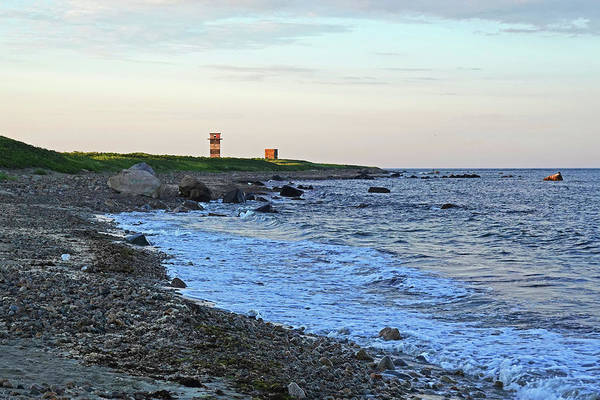Photograph - Gooseberry Island Rocky Beach Towers Westport Ma by Toby McGuire