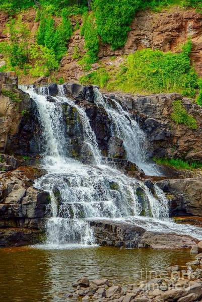 Photograph - Gooseberry Middle Falls by Susan Rydberg