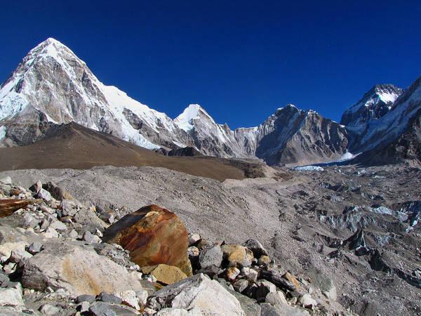 Nepal Wall Art - Photograph - Gorak Shep-everest Base Camp Trek-nepal by Copyright Michael Mellinger