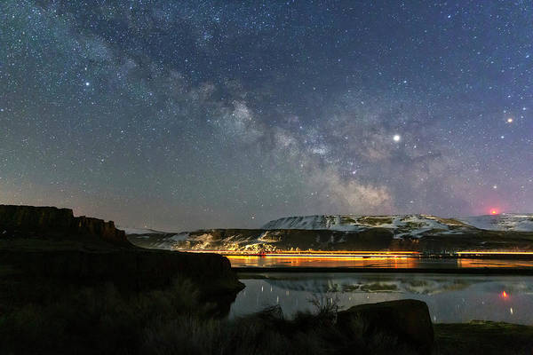 Wall Art - Photograph - Gorge Milky Way by Cat Connor