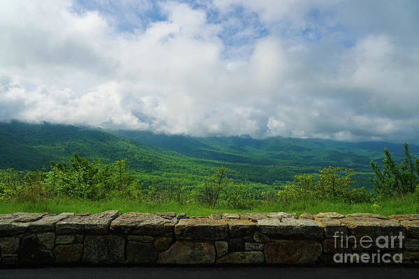 Photograph - Gorgeous Blue Ridge Overlook by Rachel Cohen