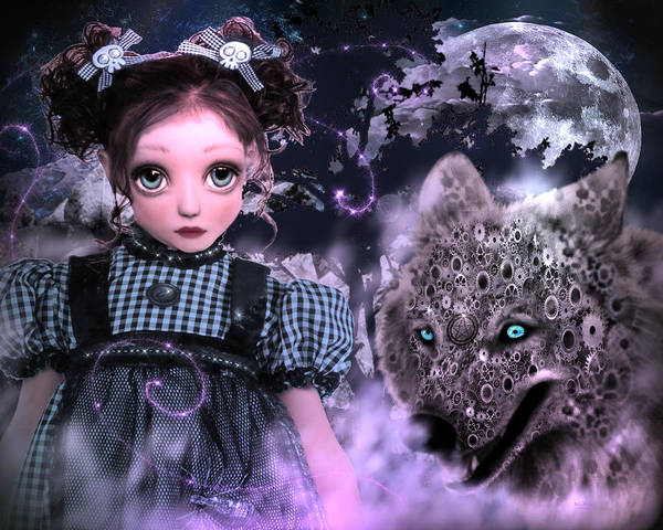 Digital Art - Goth Princess by Artful Oasis