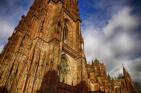 Photograph - Gothic Bell Tower Of  The Cathedra by Steve Estvanik