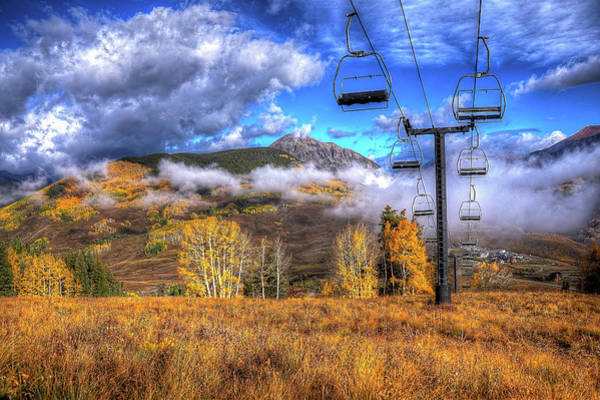 Wall Art - Photograph - Gothic Chairlift by David Ross