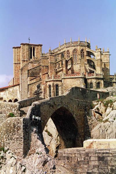 Gothic Arch Photograph - Gothic Church Of Santa Maria Assunta by Alf