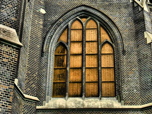 Gothic Church Window Art Print
