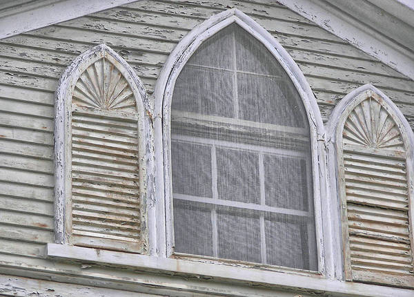 Photograph - Gothic Window by JAMART Photography