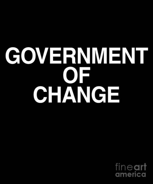 Digital Art - Government Of Change Italy by Flippin Sweet Gear