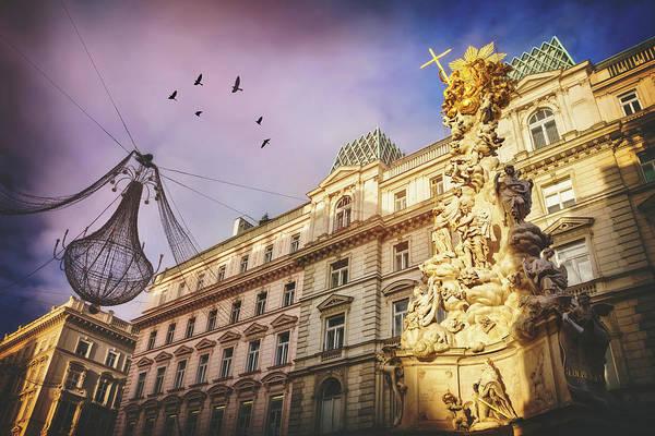 Vienna Photograph - Graben Vienna Austria  by Carol Japp