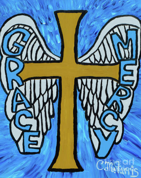 Painting - Grace And Mercy by Christopher Farris