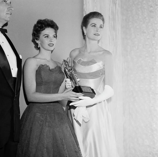 Princess Grace Photograph - Grace And Natalie by Michael Ochs Archives