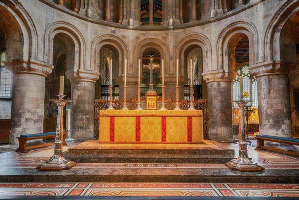 Wall Art - Photograph - Grace - Church Of St Bartholomew The Great by Stephen Stookey