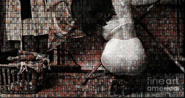 Digital Art - Grace Irons 40 Years by Bob Winberry