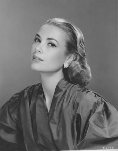 Photograph - Grace Kelly by Fpg