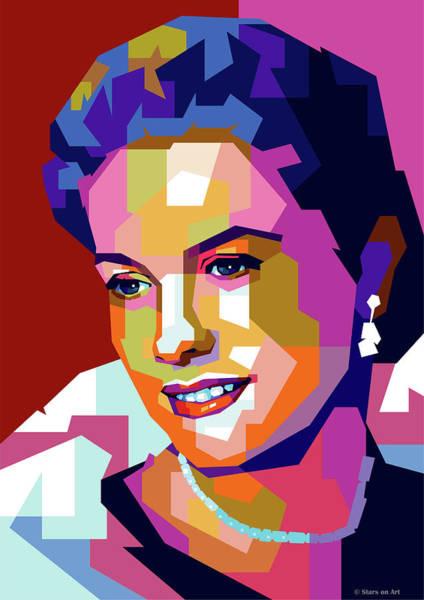 Grace Kelly Art Print