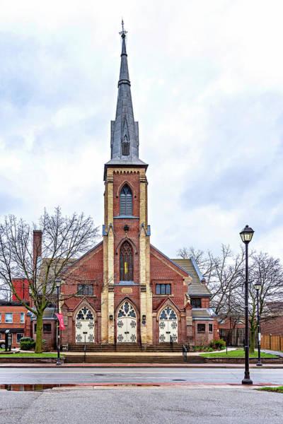 Wall Art - Photograph - Grace Methodist Church 1888 by Steve Harrington