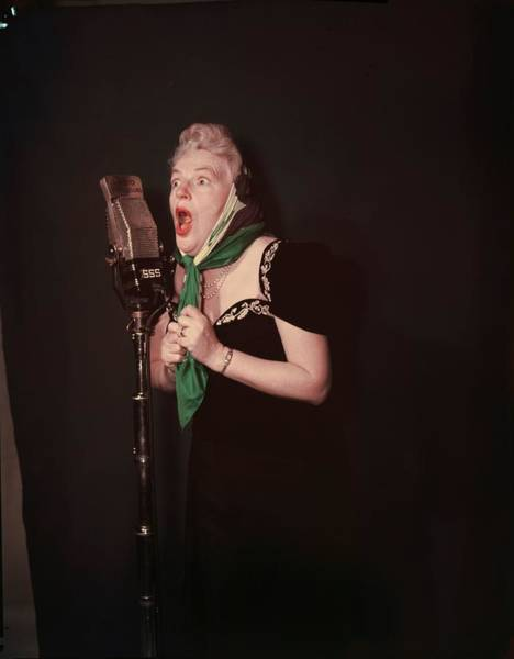 Photograph - Gracie Fields by Baron