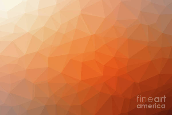 Photograph - Gradient Background With Mosaic Shape Of Triangular And Square C by Joaquin Corbalan