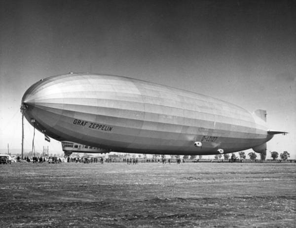 Graf Photograph - Graf Zeppelin by American Stock Archive