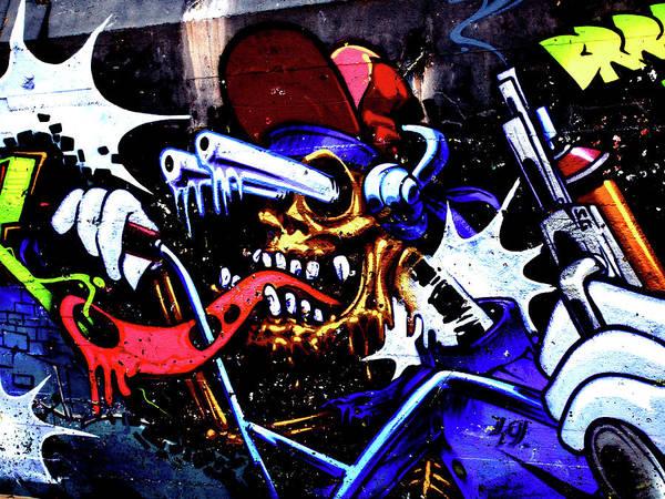 Photograph - Graffiti 01 by Jorg Becker