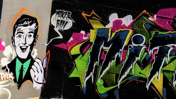 Photograph - Graffiti 15 by Jorg Becker