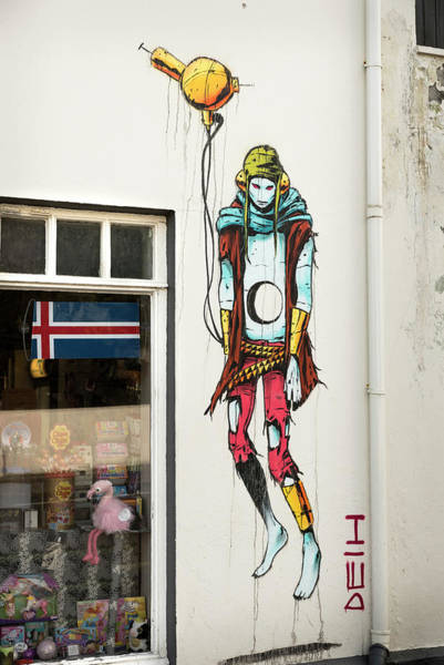Wall Art - Photograph - Graffiti By Deih In Reykjavik by RicardMN Photography