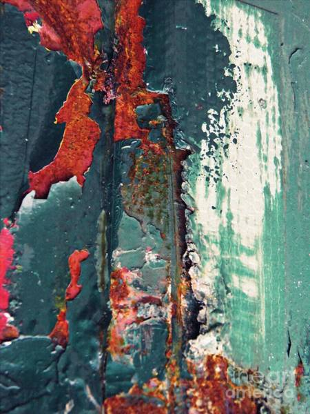 Ding Photograph - Graffiti On A Utility Truck 1  by Sarah Loft