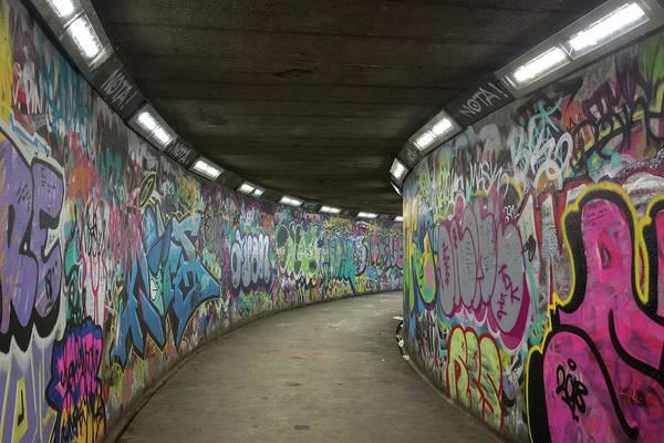 Photograph - Grafitti Tunnel by Raelene Goddard