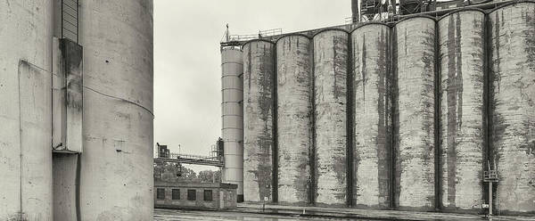 Grain Elevator Photograph - Grain Elevators, Upper Midwest by Panoramic Images