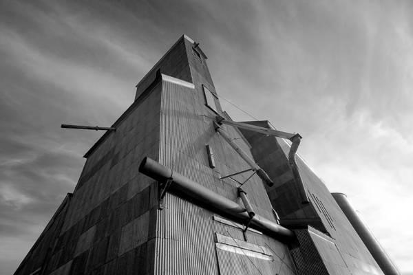 Photograph - Grain Fortress by Todd Klassy
