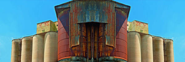 Wall Art - Photograph - Grain Mill - Mirrored 1 by Paul W Faust - Impressions of Light