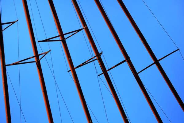 Photograph - Grain Pipes In The Air by Jerry Sodorff